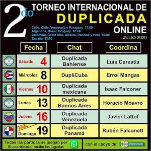 16 de julio - Torneo Online
