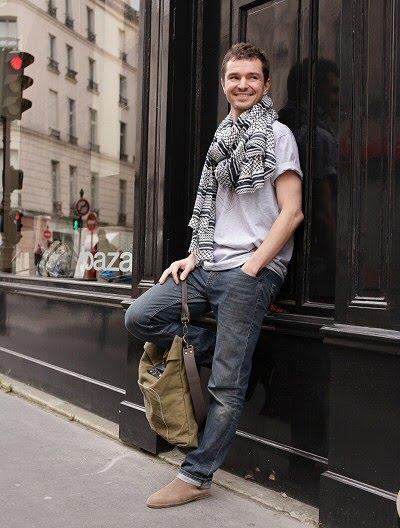 Chaussure homme Le plagiste, Foulard homme Lala Berlin, Tshirt homme Duette design