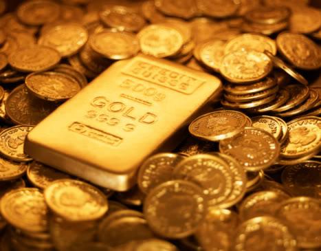 Koin dan Batangan Emas Siapa Ini?