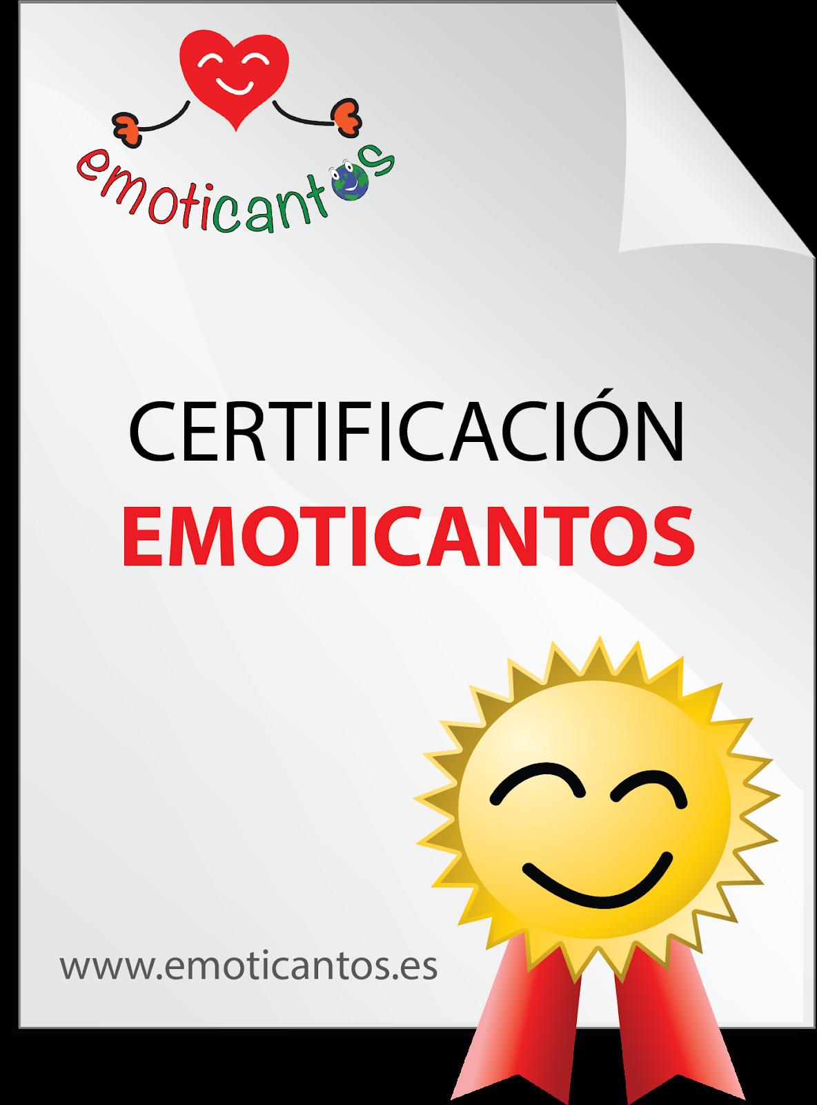 NOVEDAD: ¡Ya te puedes certificar en el modelo EMOTICANTOS!