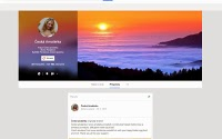 Pikantní fotky české amatérky na jejím osobním profilu