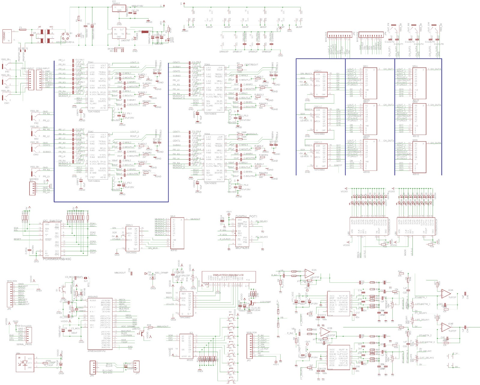 Circuit Diagram Of 6 Channel Audio Mixer Wiring Library
