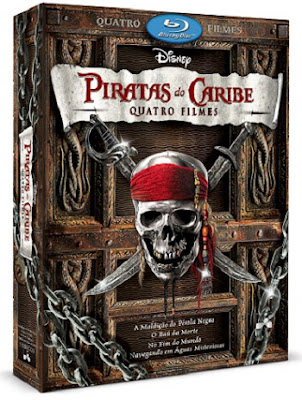 Download - Piratas do Caribe (Quadrilogia) DVDRip RMVB - Dublado