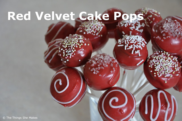 Easy Cake Pops The Things She Makes