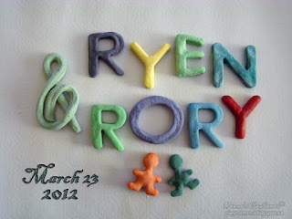 Ryen and Rory March 23 2012 Claynames