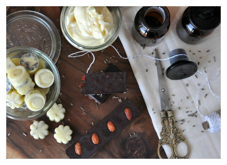 DIY Body Scrubs, Body Butter and Chocolate, wonderful gifts from the kitchen