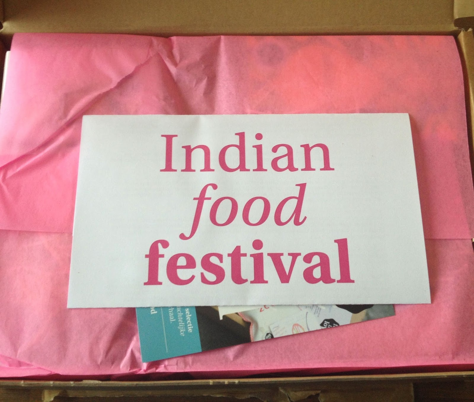 Unboxing: Food We Love box