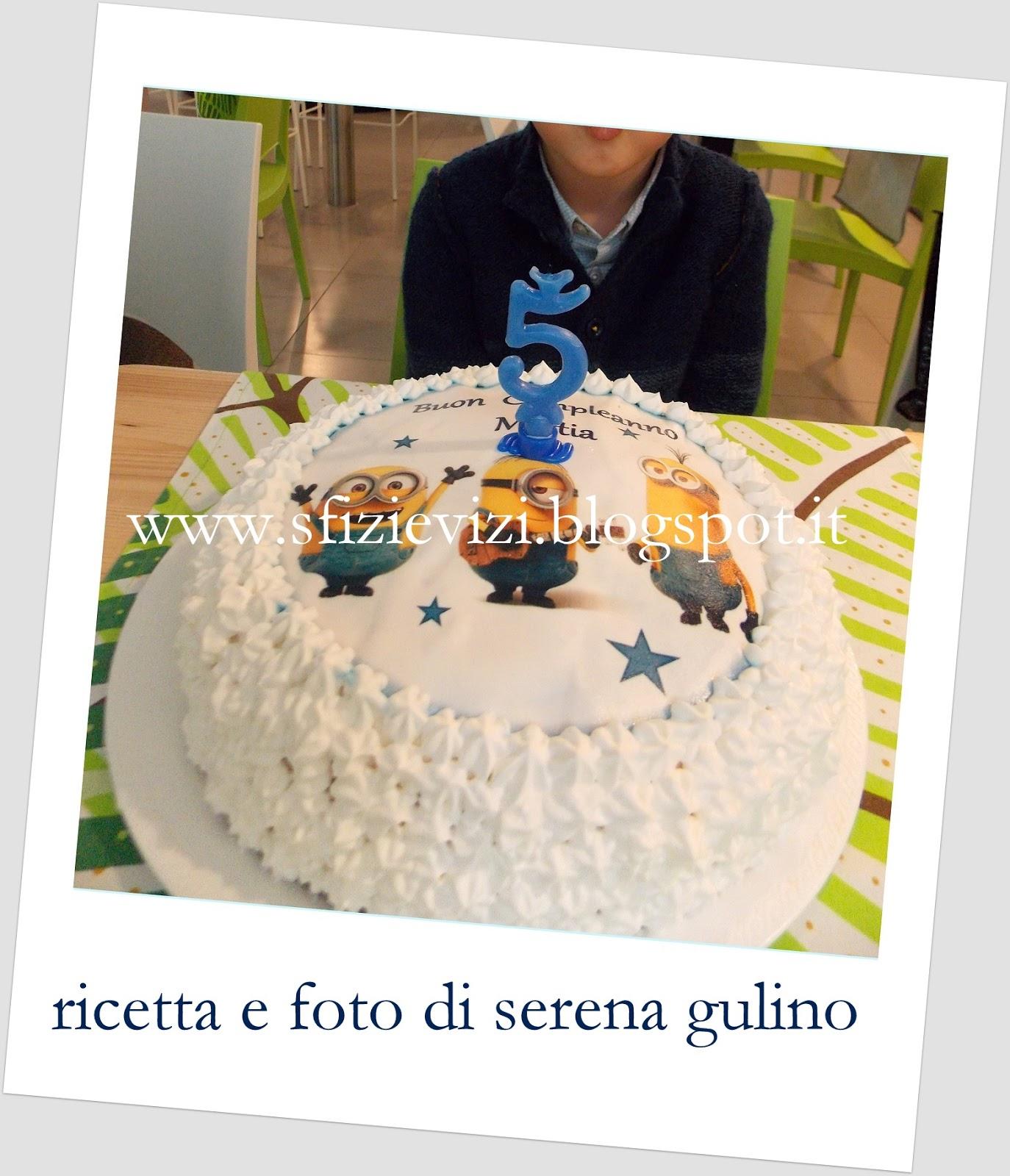 """Fabuleux Sfizi & Vizi: Torta Minions per un """"cattivissimo"""" compleanno  HS99"""