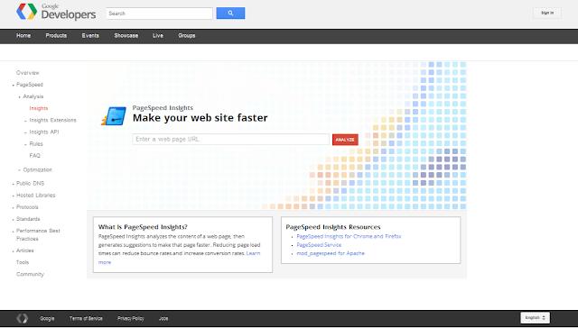 Tool Untuk Cek Kecepatan Loading Blog Google Page Speed Tool Tool Untuk Cek Kecepatan Loading Blog Google Page Speed Tool