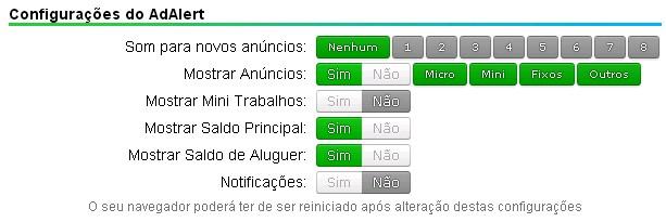neobux adalert configurações dinheiro ptc dolár dollar money clique click easy ganha fácil anúncio ad