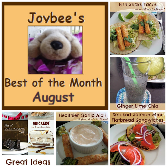 Best of the Month August 2015:  A recap of my most popular blog posts from last month (August 2015)