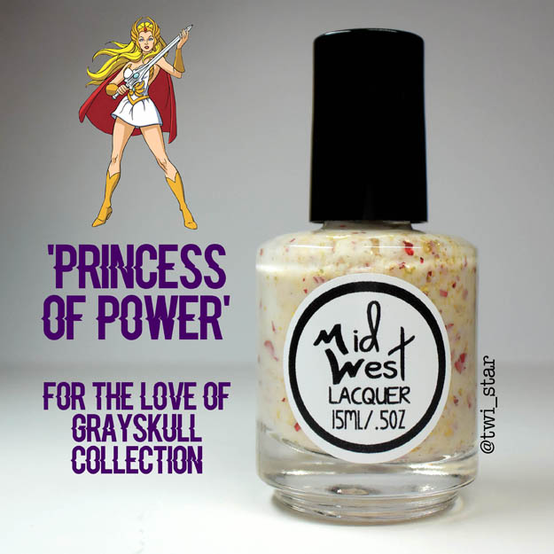 MidWest Lacquer For The Love of Grayskull He-Man Princess of Power