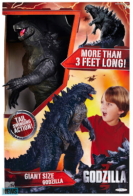 Action figure for Godzilla reboot movie 2014