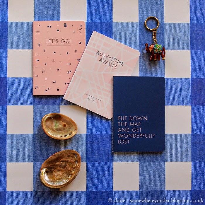 Travel notebooks by kikki.k
