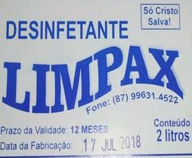 DESINFETANTE LIMPAX