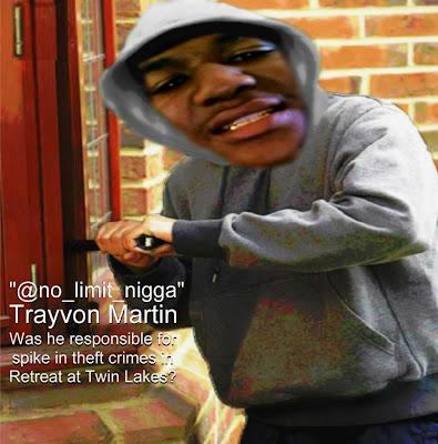 Trayvon Martin Thug