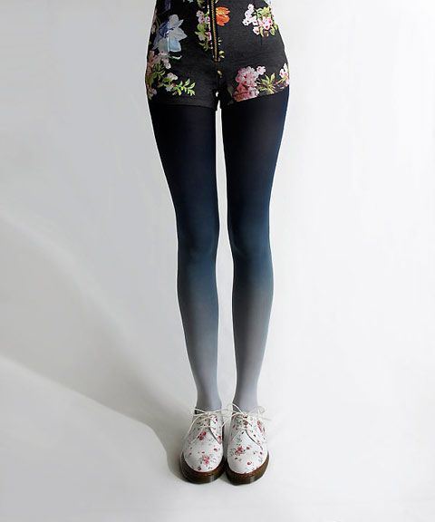 BZR Hand Dyed Tights