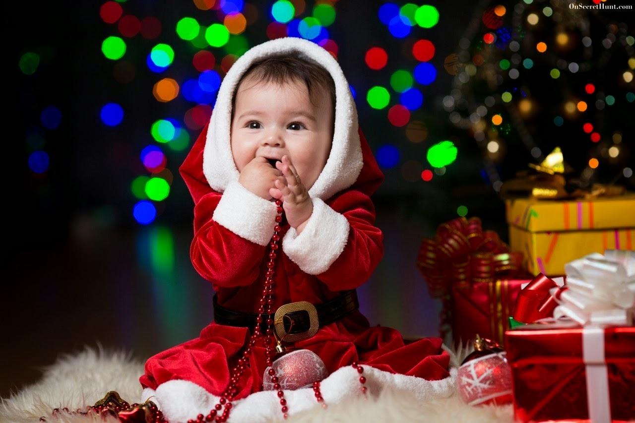 Cute Baby Boy Kids Christmas