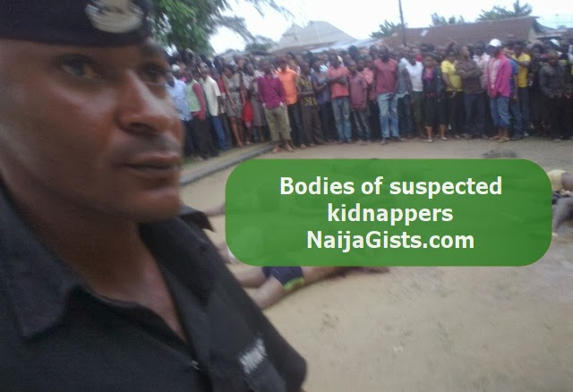 kidnappers killed by police in anambra state