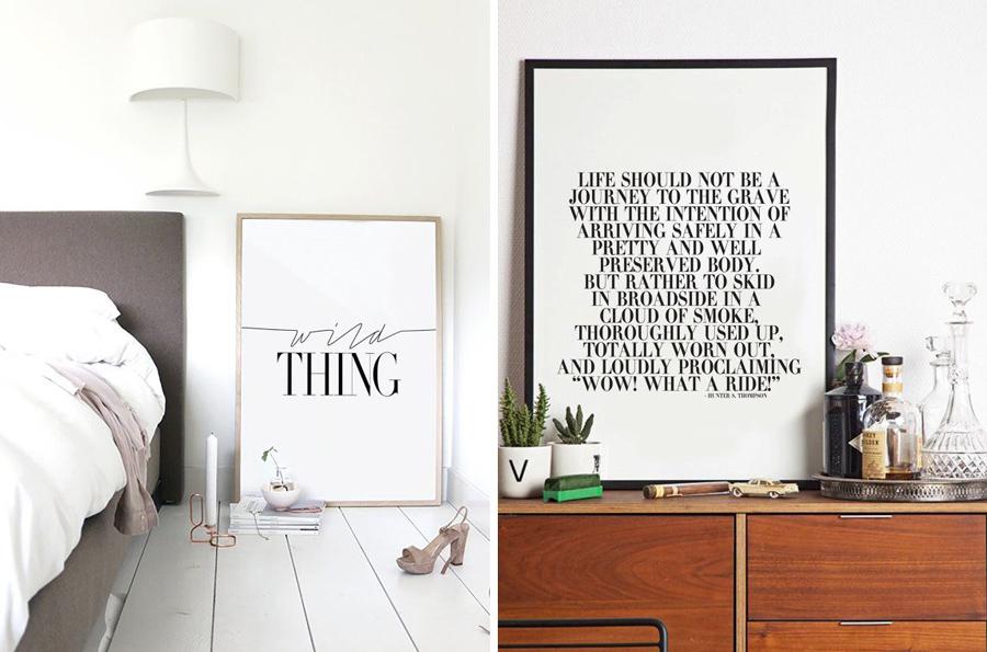 Cuadros con mensaje para mi habitaci n 2 fresh wood - Cuadros para una habitacion ...