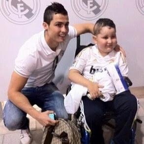 Morre garoto de nove anos que tinha tratamento de câncer bancado por Cristiano Ronaldo