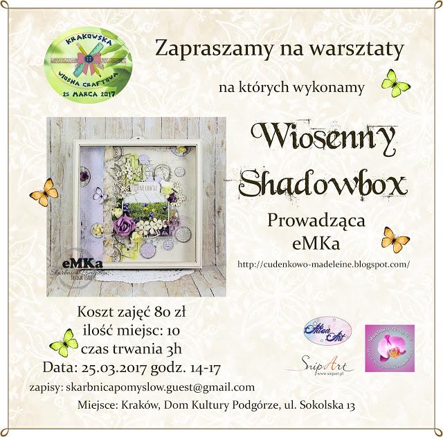 """Warsztaty """"Wiosenny Shadowbox"""""""