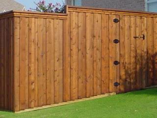 Деревянный забор. Фото 56