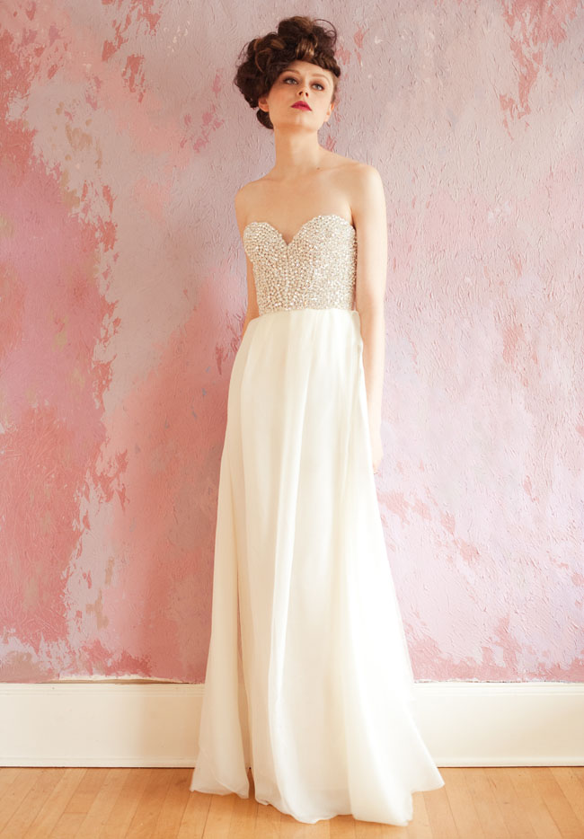 Sarah seven 2013 spring bridal gown collection