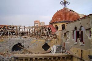 Oι «απελευθερωτές» της Συρίας κατέστρεψαν το ιστορικό Ελληνορθόδοξο Μοναστήρι της Αγίας Μαρίας στην όχθη του Ευφράτη.