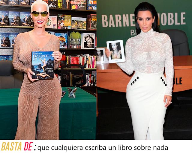 amber rose y kim kardashian book