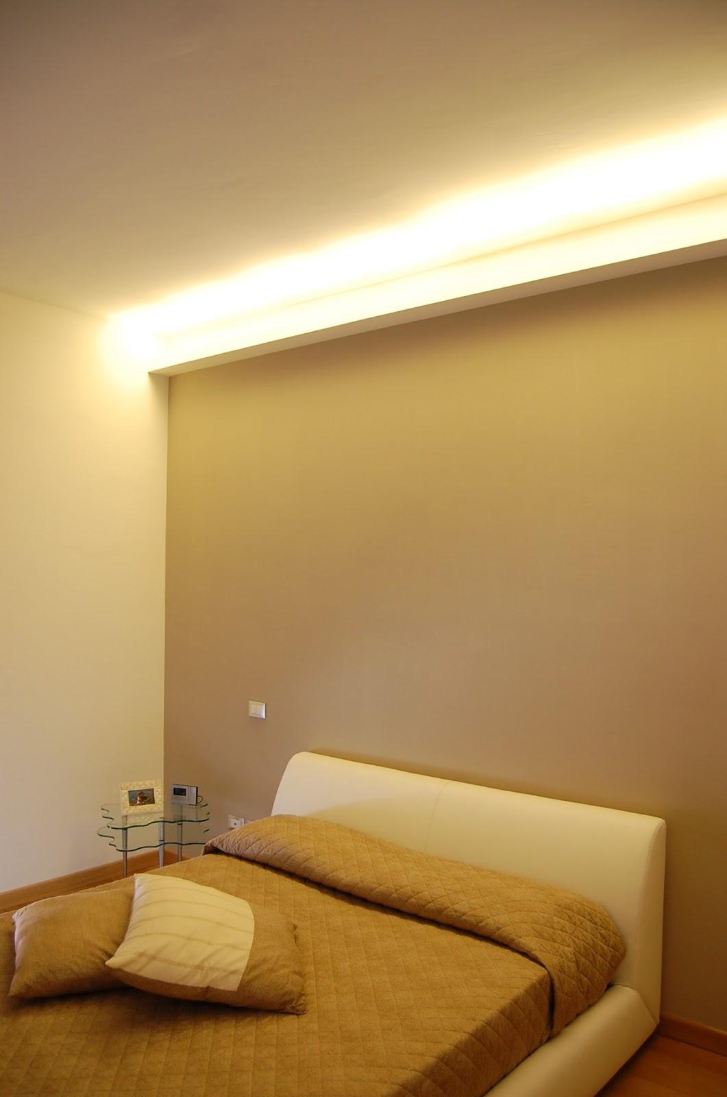 Illuminazione led casa appartamento progetto for Illuminazione led a soffitto