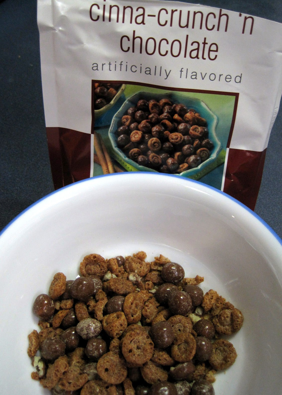cinna crunch n chocolate low carb snack from diet direct review