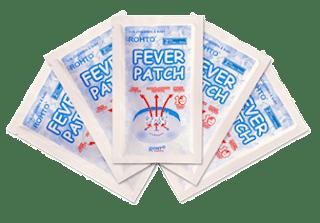 Fever Patch Plester Penurun Demam dari Rohto