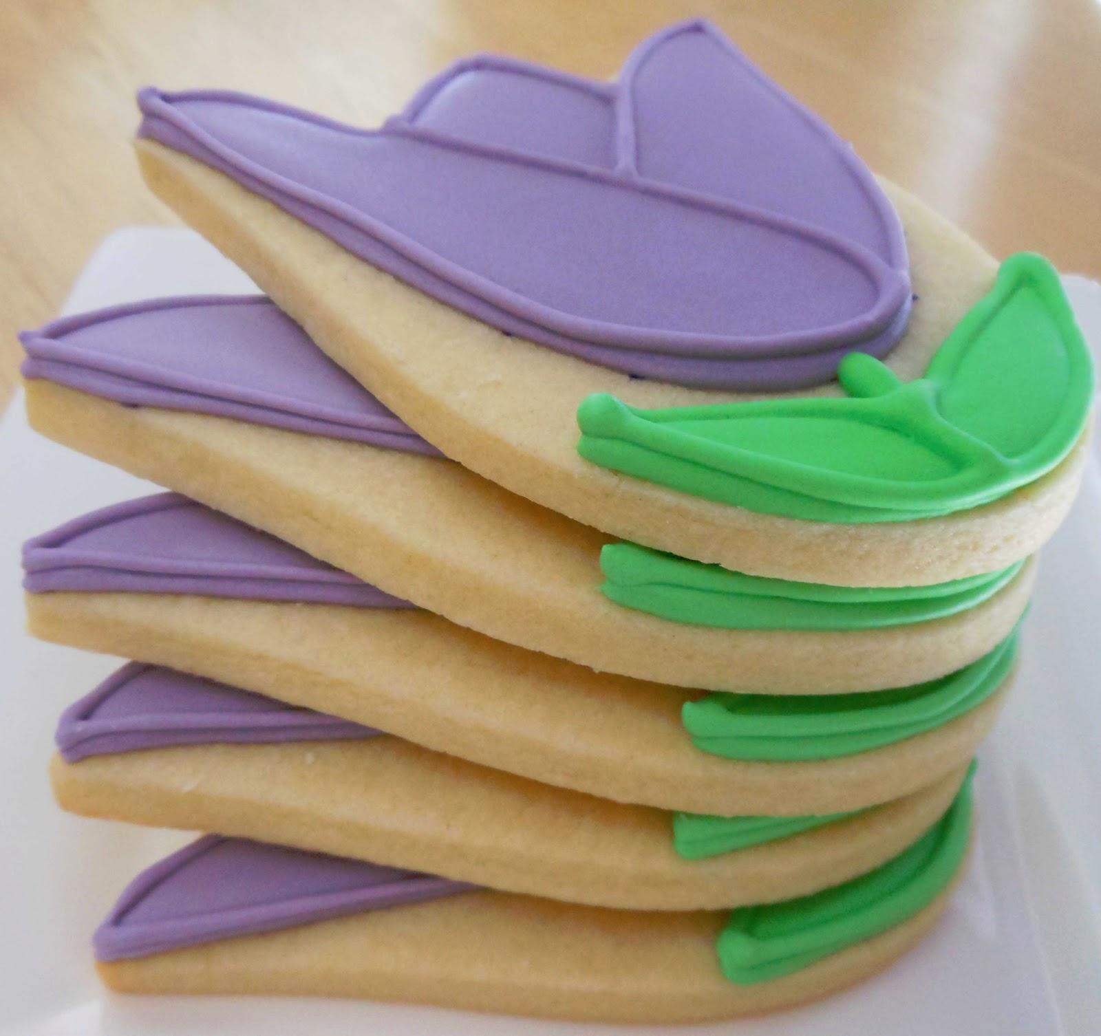 My Cookie Clinic: TULIP COOKIES/ Mom's Favorite