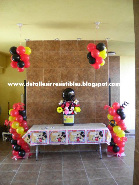 DECORACION MICKEY AND MINNIE