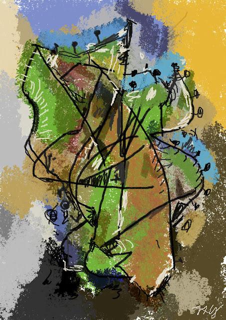Greenery Brush Series de Zabadal por Americo Gobbo, Gimp, 2012.