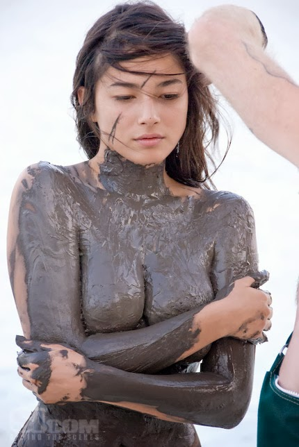 jessica gomes sexy body paint naked pics 02