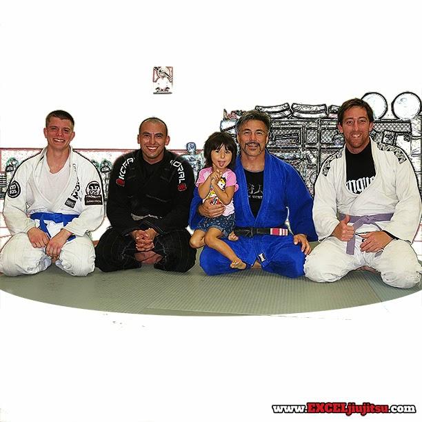 Jiu Jitsu brotherhood with Mat Gurrister, Marco Alvarado, Michio Grubbs, Nathan Murphy