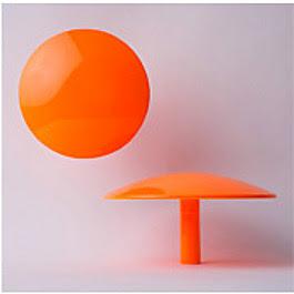 orange dot wall hook