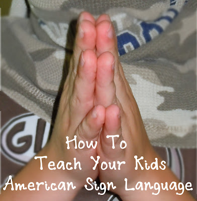 ASL, teach kids ASL