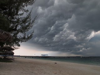 Storm over Pulau Besar