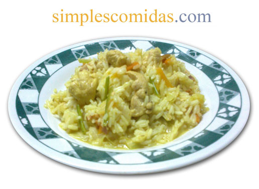 arroz con pollo