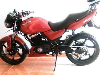 Modif Suzuki thunder 125