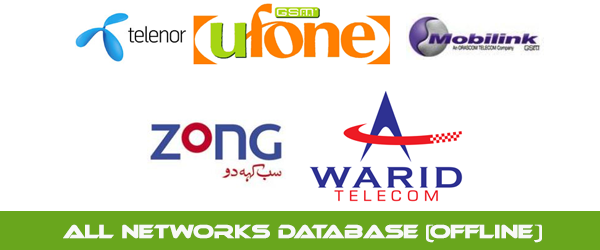 All Networks Database Free Download