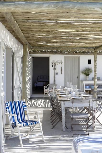 Decoracion Rustica Para Casas De Playa ~ Una casa de vacaciones en la playa simplemente perfecta en Chic