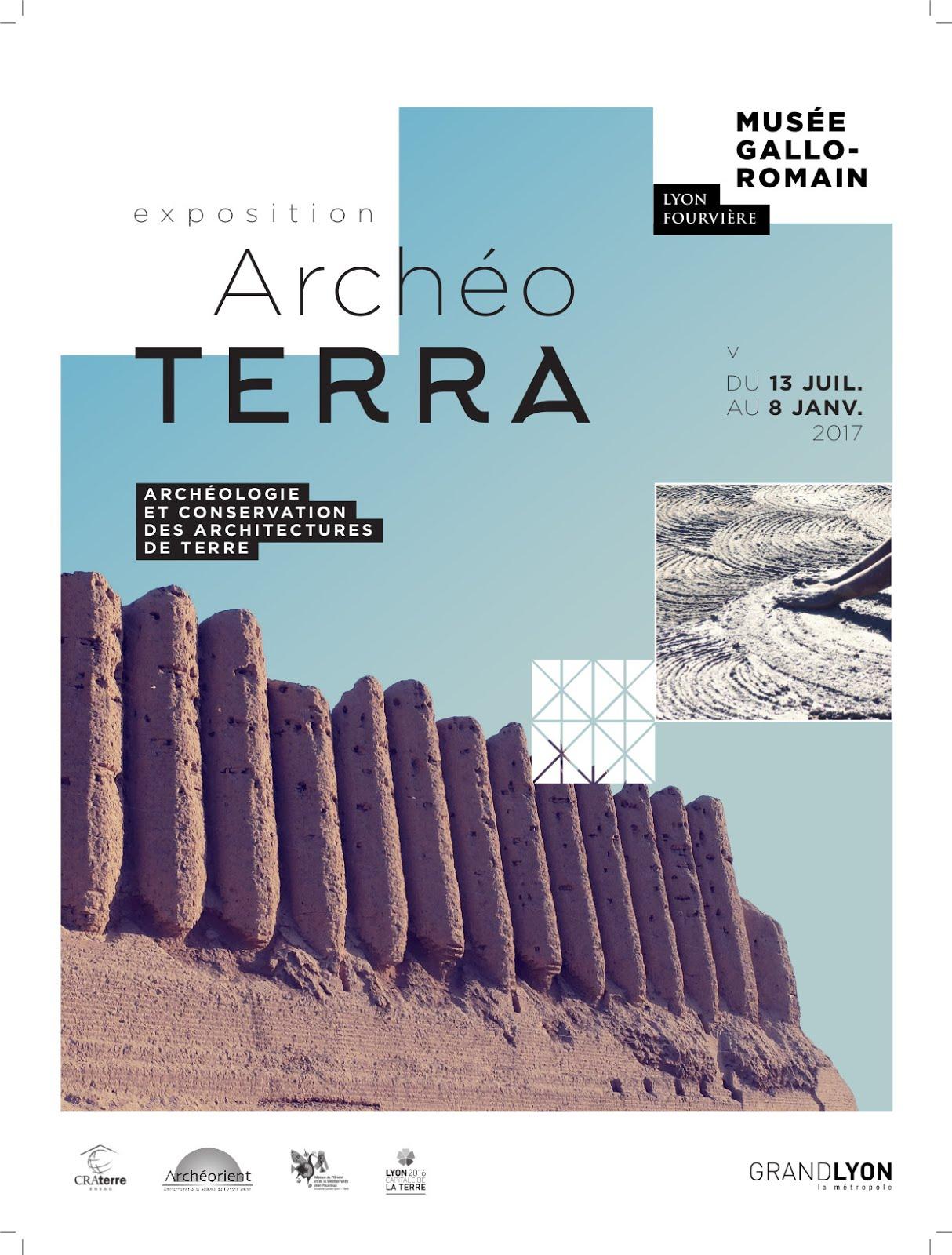 Expo: ArchéoTERRA Du 13 juillet 2016 au 8 janvier 2017