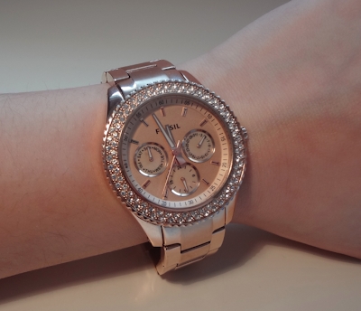 Fossil Watches For Women Rose Gold Fossil Womens Cecile Rose