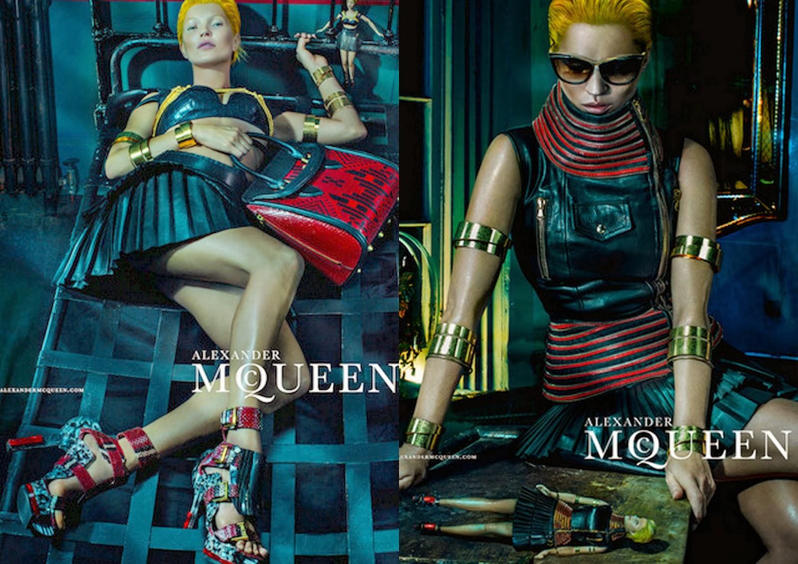 Kate Moss- Campaña Alexander McQueen