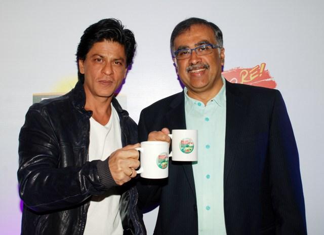 Shahruk Khan At Tata Tea Jaago Re Campaign Press Conference