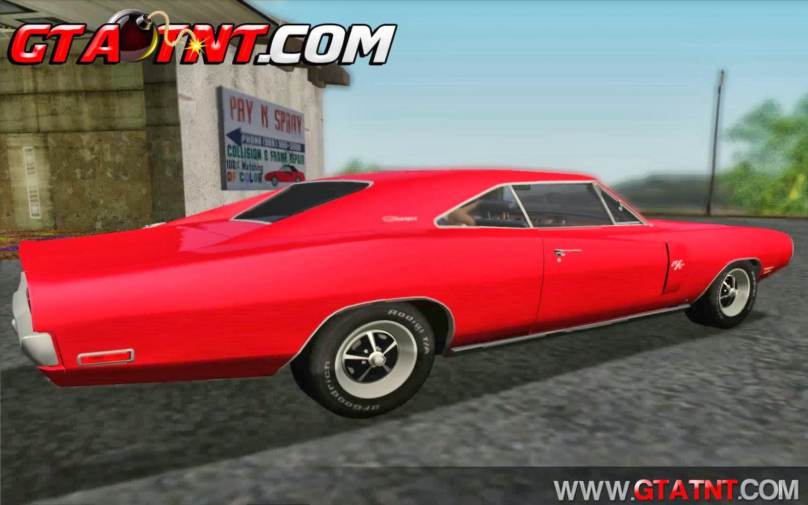 GTA SA - Dodge Charger 440 1970